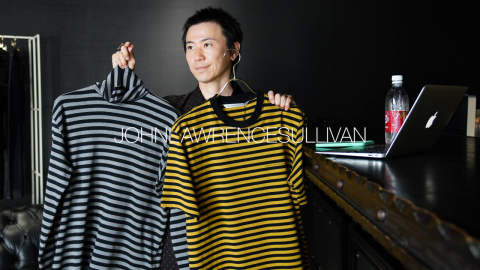 (前編)2nd デリバリー Striped Cotton Top【JOHNLAWRENCESULLIVAN】