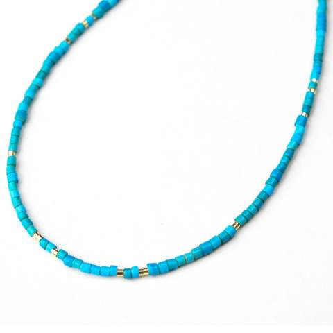 Vintage Beads Necklace - Grand Blue ヴィンテージビーズネックレス グランドブルー