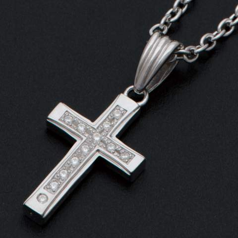 Gravity Cross Necklace グラビティクロスネックレス