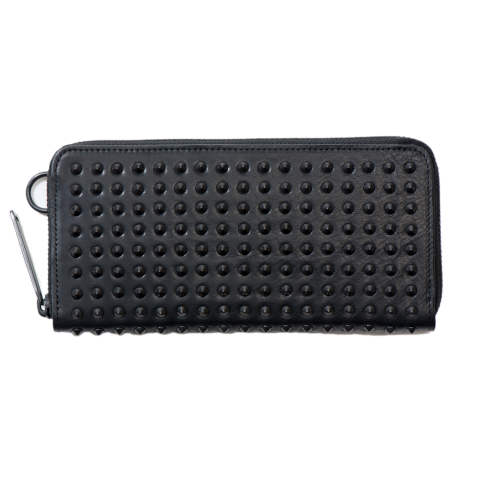 Leather long wallet 'all-studs' pointu レザーロングウォレット オールスタッズポイント