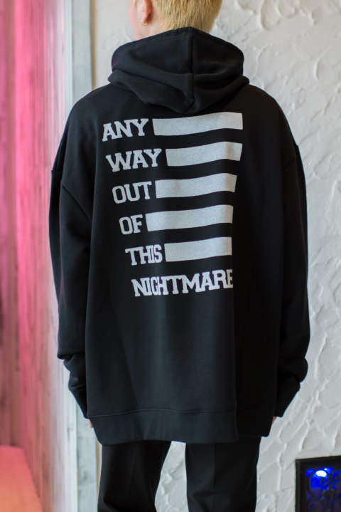 Regular fit hoodie - ANY WAY OUT