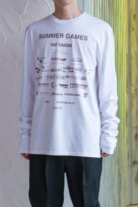 Regular fit long sleeve t-shirt - Summer games