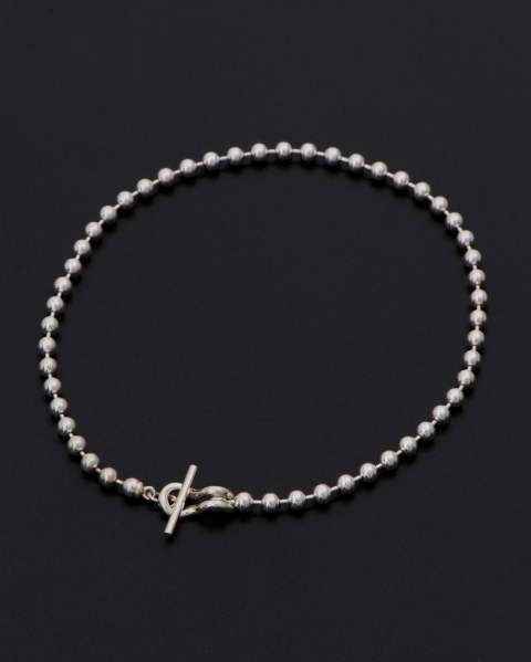 Ball Chain T-Bar Anklet (ボールチェーンTバーアンクレット) 10-A1803S Sympathy of Soul