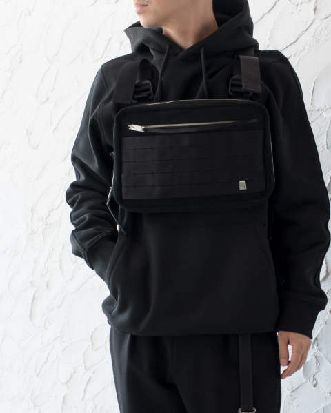 【LAST ONE】Chest Rig Black leather