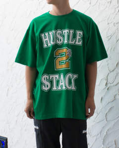 【LAST ONE(XL)】HUSTLE 2 STACK TEE