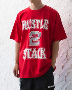 HUSTLE 2 STACK TEE