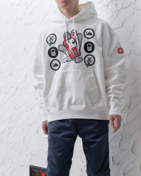 【LAST ONE(XL)】Hand mobile heavy hoody