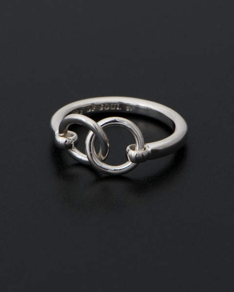 Unity Double Ring Silver (ユニティダブルリング) R1811S Sympathy of Soul