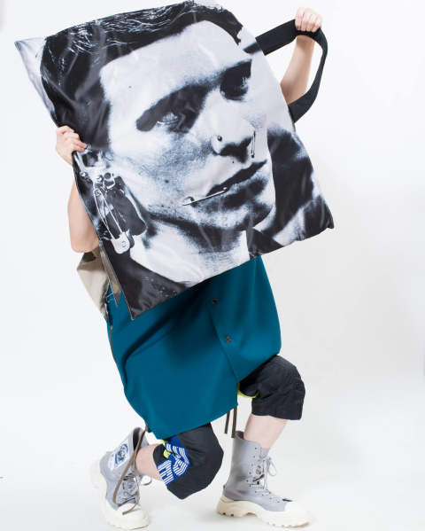 【LAST ONE】EASTPAK × RAF SIMONS RS Poster tote 05Z SI SAT BOY S