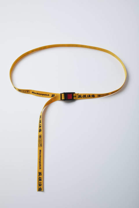 Handle With Care Belt yellow