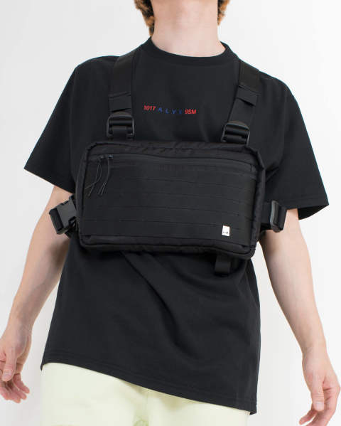 classic chest rig w/rain cover