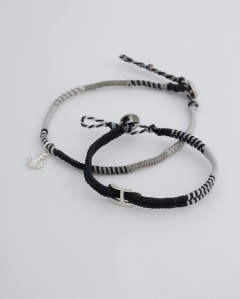 Wakami×SYMPATHY OF SOUL Collaboration Braid Bracelet & Anklet Set コラボレーションブレイドブレスレットアンドアンクレットセット