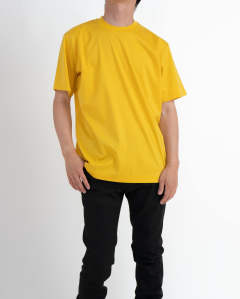 """JLS"" PRINTED Tee Yellow"