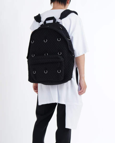 EASTPAK × RAF SIMONS RS PADDED LOOP BLACKMATLAS