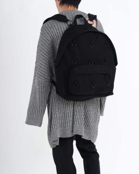 EASTPAK × RAF SIMONS RS PADDED LOOP BLACK