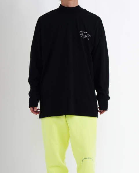 Jersey Funnel Neck black