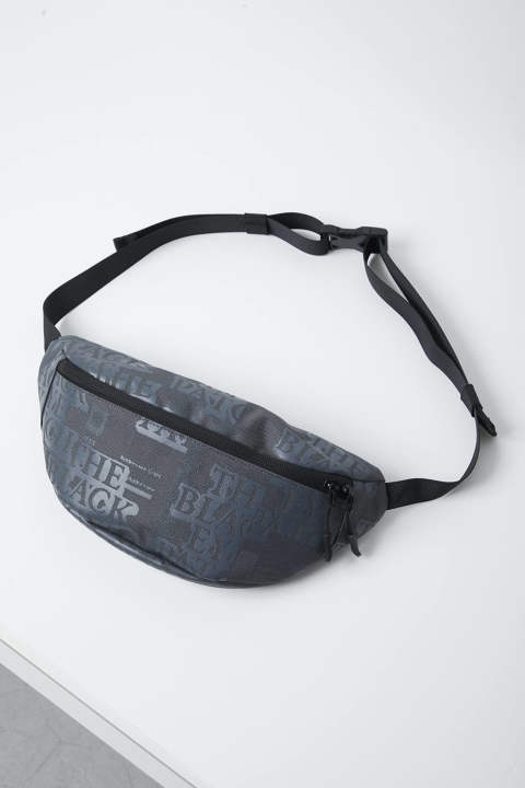 Label Waist Pouch black
