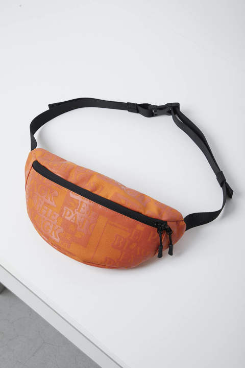 Label Waist Pouch orange