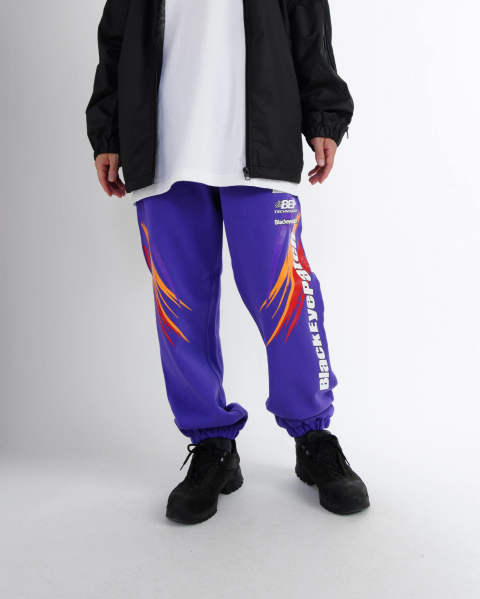 Racing Sweat Pants purple