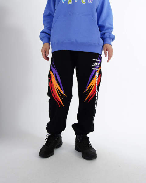 Racing Sweat Pants black