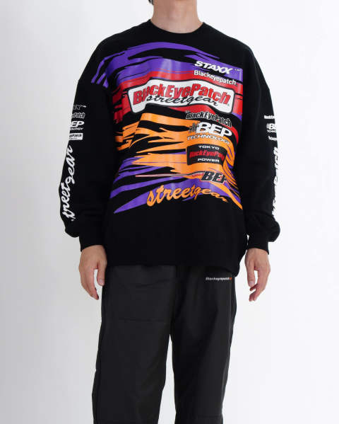 Racing Crew Sweat black