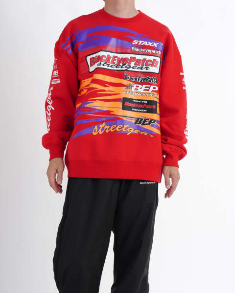 Racing Crew Sweat red