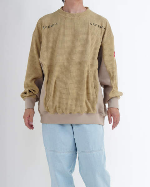Block Fleece Crew Neck