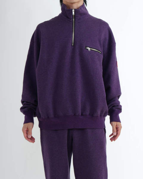 Exterior Half Zip Sweat
