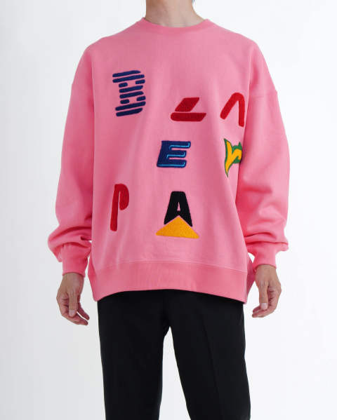 【LAST ONE(XL)】Company Crew Sweat pink
