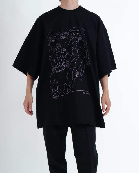 How Are You Now? T-Shirt, Oversize