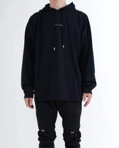 Hooded tee visual black