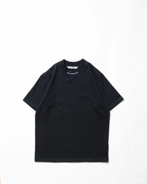 【LAST ONE(M)】Logo Jacquard T-shirt black/white