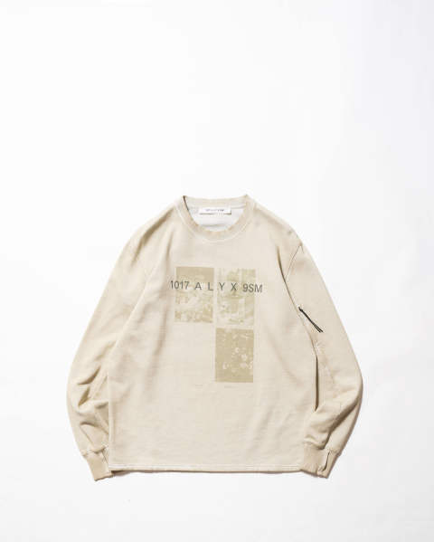 【LAST ONE(XL)】Crewneck w/Print
