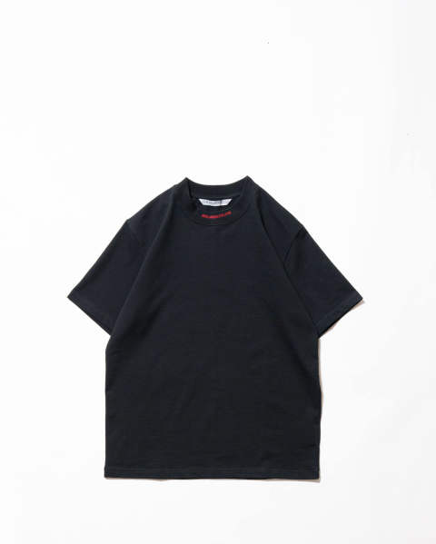 Logo Jacquard T-shirt black/red
