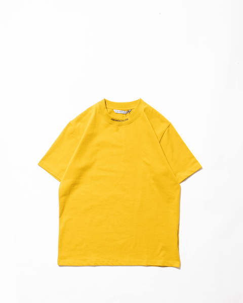 Logo Jacquard T-shirt yellow
