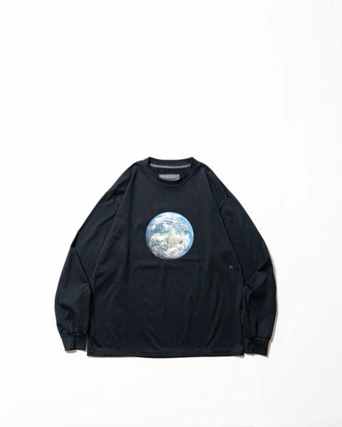 T-shirt-Earth Black