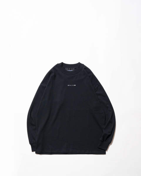 L/S tee visual black