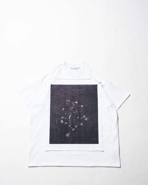 【LAST ONE(L)】Photo Printed Oversized T-shirt 015 white