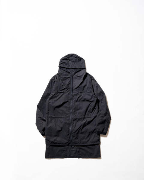 【LAST ONE SIZE M】Layered Nylon Jacket