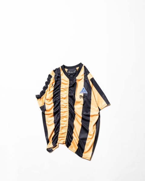 【LAST ONE(XL)】Ruched Football Top