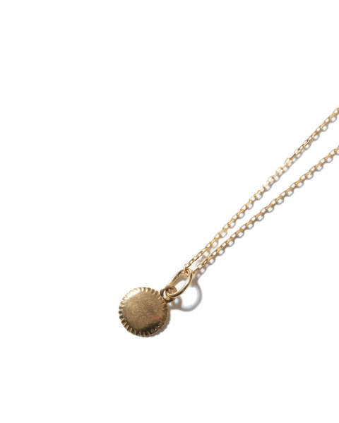 Small Charm Necklace - Mirror K18 Yellow Gold (スモールチャームネックレス ミラー)