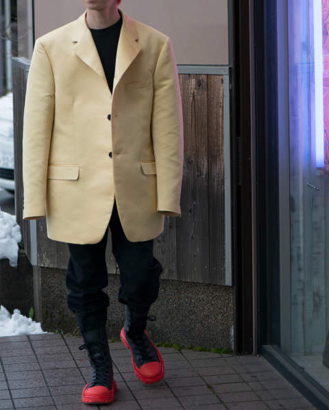 RAF SIMONS Big fit Blazer